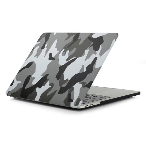 """Пластиковый чехол iLoungeMax Soft Touch Matte Camouflage Grey для MacBook Pro 13"""" (2016-2020)"""