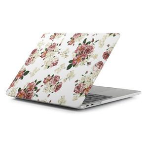 Купить Пластиковый чехол Soft Touch Matte Flowers для Macbook Pro 13'' (2016/2017)