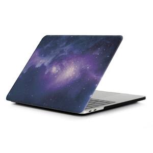 Купить Пластиковый чехол Soft Touch Matte Purple Galaxy для Macbook Pro 13'' (2016)