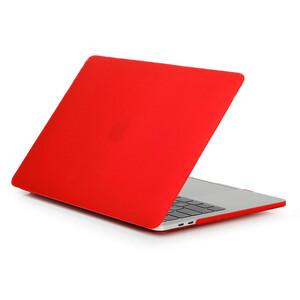 Купить Пластиковый чехол Soft Touch Matte Red для MacBook Pro 13'' (2016/2017/2018)