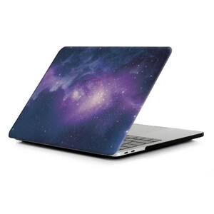 "Купить Пластиковый чехол oneLounge Soft Touch Matte Galaxy purple для MacBook Pro 15"" (2016-2019)"