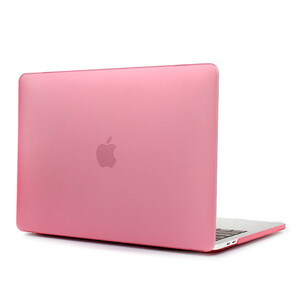 Купить Пластиковый чехол Soft Touch Matte Pink для MacBook Pro 15'' (2016/2017)