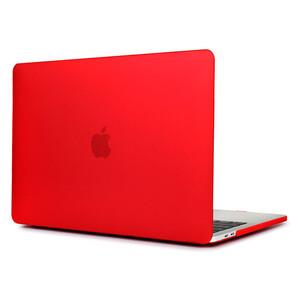 Купить Пластиковый чехол Soft Touch Matte Red для MacBook Pro 15'' (2016/2017)