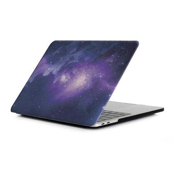 "Пластиковая накладка iLoungeMax Soft Touch Matte Purple Galaxy для MacBook Air 13"" (2019   2018)"