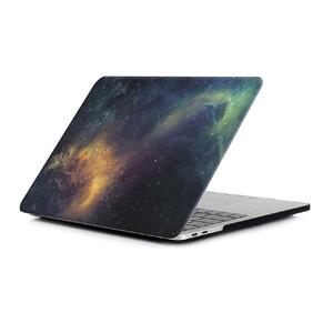 "Купить Пластиковая накладка oneLounge Soft Touch Matte Yellow Galaxy для MacBook Air 13"" (2020/2019/2018)"