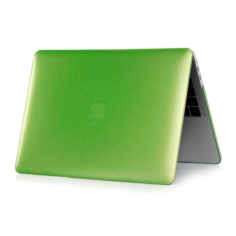 "Пластиковый чехол oneLounge Soft Touch Metallic Green для MacBook Pro 13"" (2016-2019)"