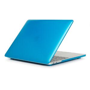 """Купить Пластиковый чехол Soft Touch Metallic Blue для Macbook Pro 15"""" (2016/2017)"""