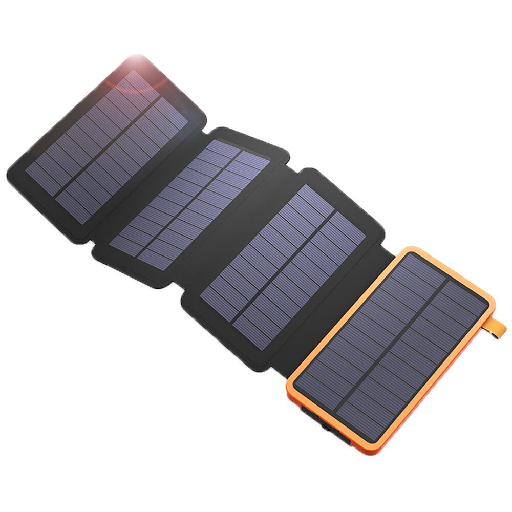 Водонепроницаемый внешний аккумулятор на солнечной батарее oneLounge Folding Power bank 8000mAh