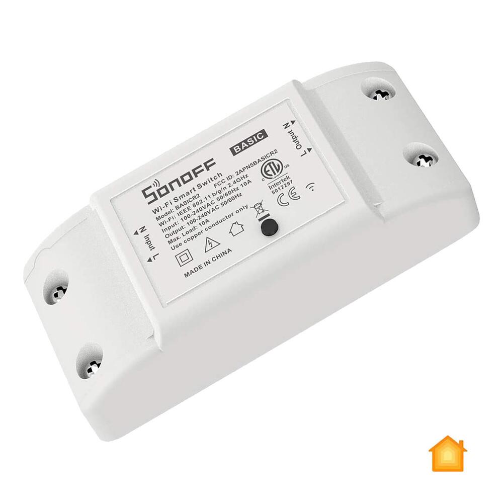 Купить Умное Wi-Fi реле Sonoff Basic R2 для умного дома HomeKit