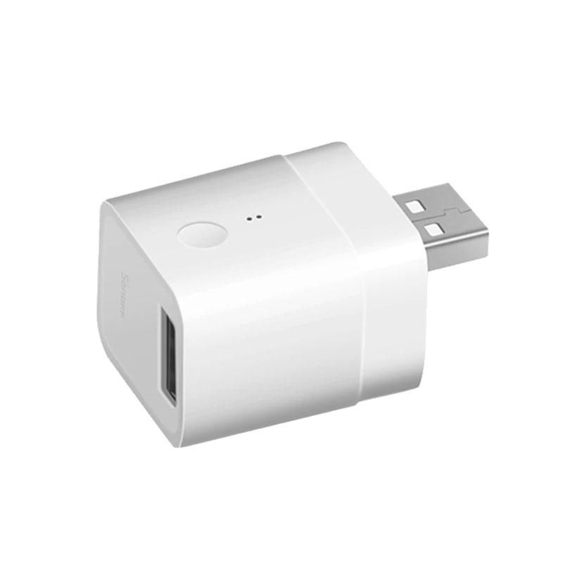Купить Умный беспроводной адаптер управления питанием SONOFF Micro — 5V Wireless USB Smart Adaptor