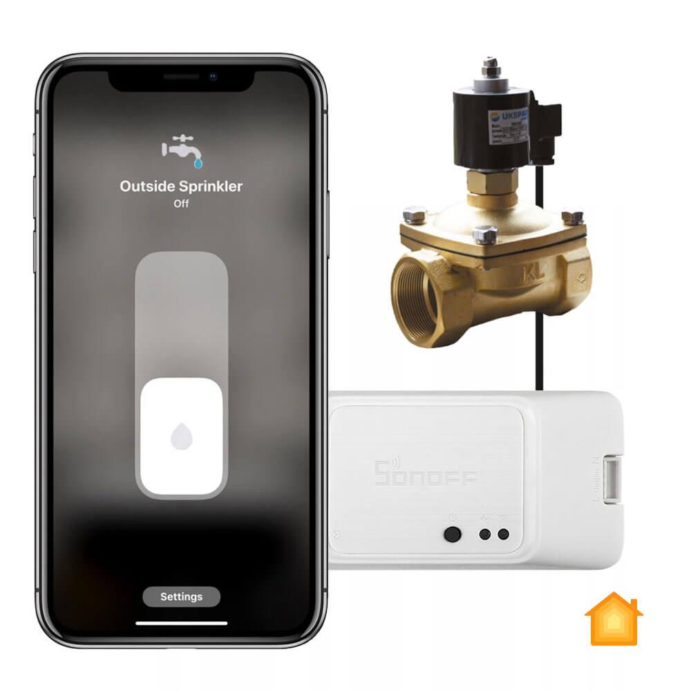 Купить Система аварийного перекрытия воды HomeKit Sonoff