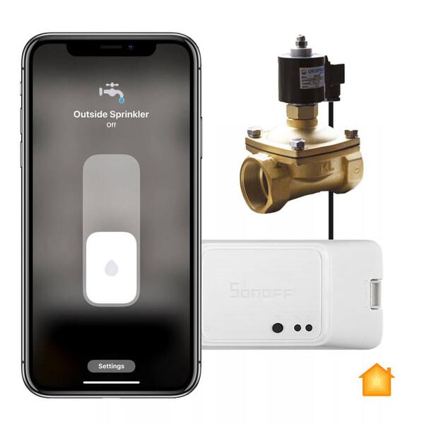 Система аварийного перекрытия воды HomeKit Sonoff
