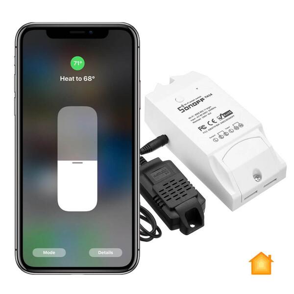Термостат (терморегулятор) HomeKit Sonoff для устройства 220V 3500W