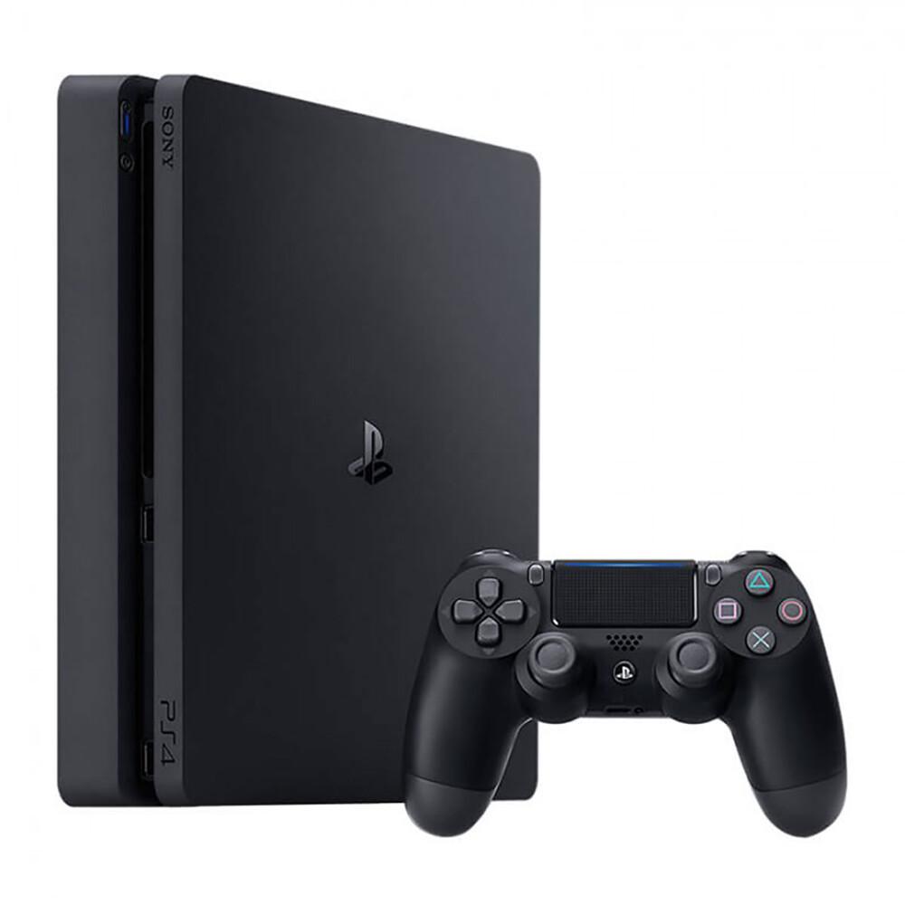 Купить Приставка Sony PlayStation 4 Slim 1 TB Black + God of War + Days Gone + The Last of Us + 3M PSPlus