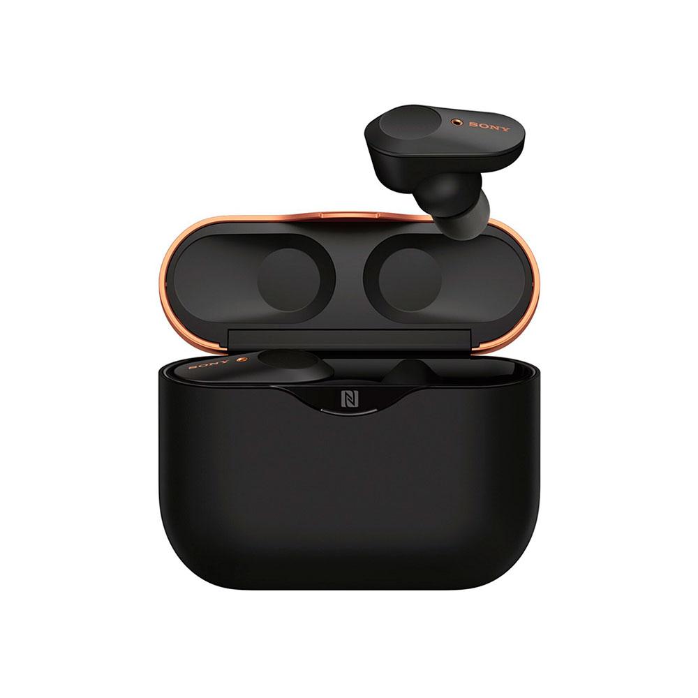 Купить Беспроводные наушники Sony WF-1000XM3 Black с зарядным кейсом