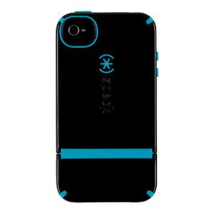 Купить Чехол Speck CandyShell Flip Black/Blue для iPhone 4/4S