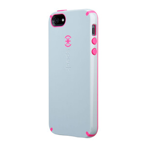 Купить Чехол Speck CandyShell Pebble Grey/Raspberry Pink для iPhone 5/5S/SE