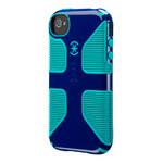 Защитный чехол Speck CandyShell Grip Cadet Blue/Caribbean Blue для iPhone 4/4S