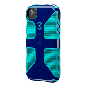 Купить Защитный чехол Speck CandyShell Grip Cadet Blue/Caribbean Blue для iPhone 4/4S