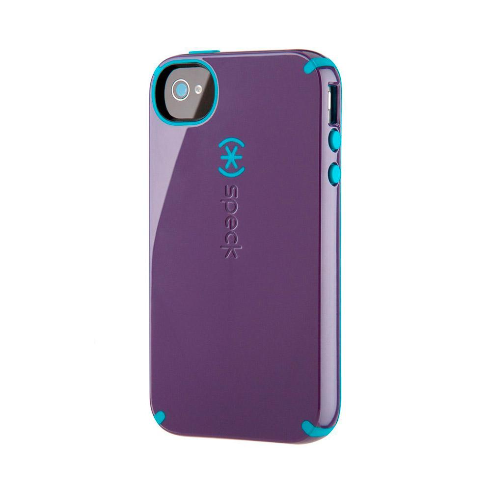 Купить Противоударный чехол Speck CandyShell Purple | Blue для iPhone 4 | 4S
