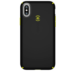 Купить Чехол Speck CandyShell Black/Lemongrass Yellow для iPhone X/XS