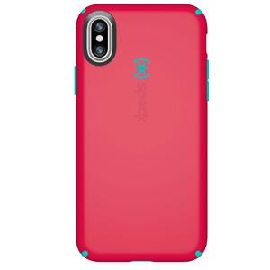 Купить Чехол Speck CandyShell Ruby Red/Carribbean Blue для iPhone X