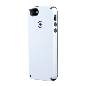 Купить Чехол Speck CandyShell White/Charcoal Grey для iPhone 5/5S/SE
