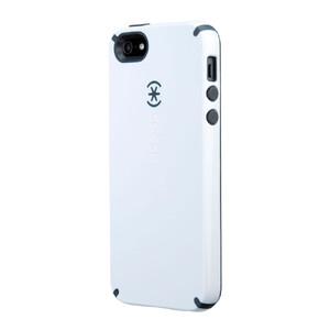 Купить Чехол Speck CandyShell White/Charcoal Grey для iPhone 5/5S/SE