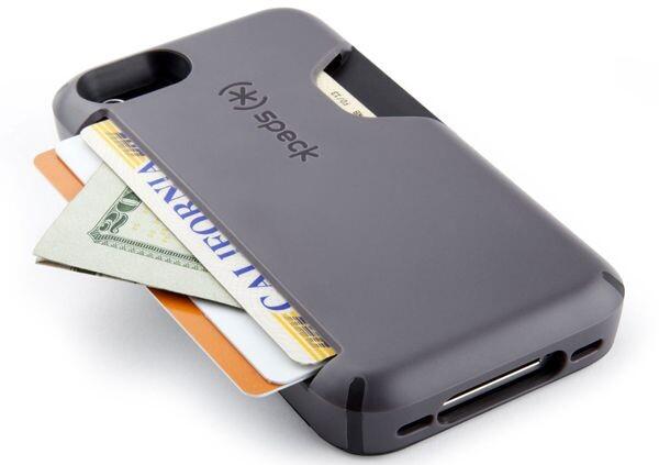 Чехол Speck Smartflex Card Grey под кредитные карты/деньги для iPhone 5/5S/SE
