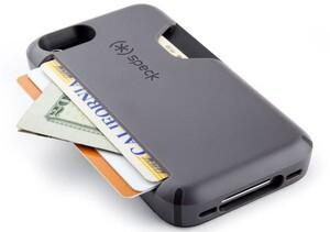 Купить Чехол Speck Smartflex Card Grey под кредитные карты/деньги для iPhone 5/5S/SE