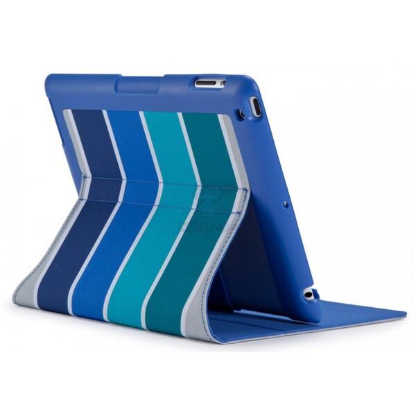 Чехол-книжка из ткани Speck FitFolio ColorBar Arctic Blue для iPad 2   3   4
