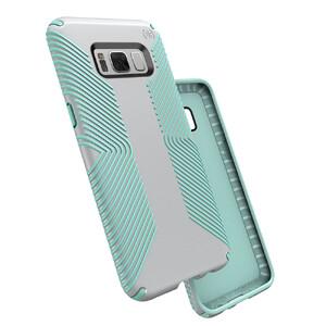 Купить Защитный чехол Speck Presidio Grip Dolphin Grey/Aloe Green для Samsung Galaxy S8 Plus