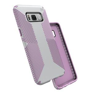 Купить Защитный чехол Speck Presidio Grip Dolphin Grey/Bellflower Purple для Samsung Galaxy S8 Plus