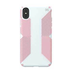 Купить Противоударный чехол Speck Presidio Grip Dove Grey/Tart Pink для iPhone XS Max
