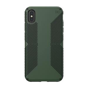 Купить Противоударный чехол Speck Presidio Grip Dusty Green/Brunswick Black для iPhone XS Max