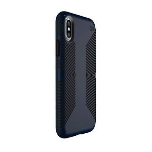 Купить Защитный чехол Speck Presidio Grip Eclipse Blue/Carbon Black для iPhone X