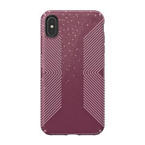 Купить Противоударный чехол Speck Presidio Grip + Glitter Starlit Purple With Gold Glitter/Cattleya Pink для iPhone XS Max