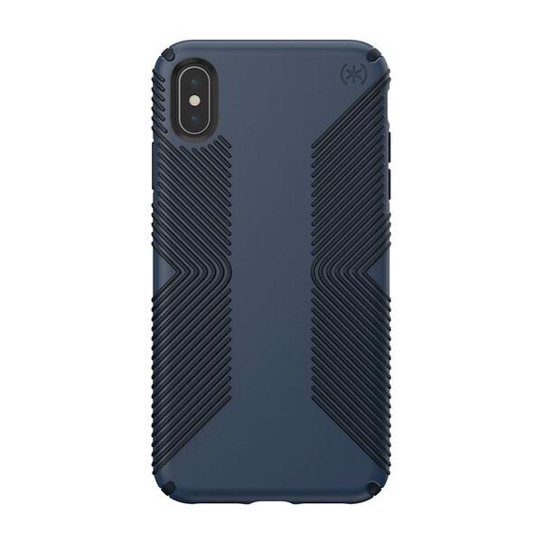 Противоударный чехол Speck Presidio Grip Eclipse Blue   Carbon Black для iPhone XS Max