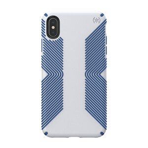 Купить Противоударный чехол Speck Presidio Grip Microchip Grey/Ballpoint Blue для iPhone XS Max