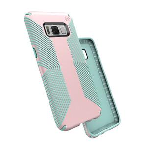 Купить Защитный чехол Speck Presidio Grip Quartz Pink/Aloe Green для Samsung Galaxy S8