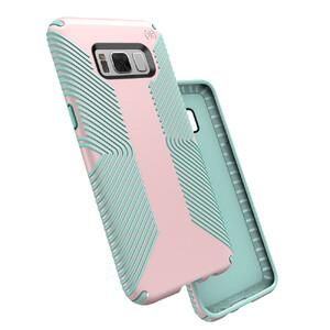 Купить Защитный чехол Speck Presidio Grip Quartz Pink/Aloe Green для Samsung Galaxy S8 Plus