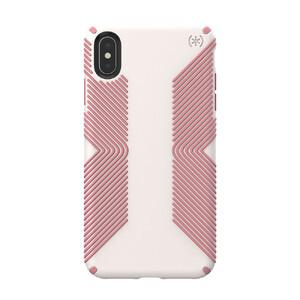 Купить Противоударный чехол Speck Presidio Grip Veil White/Lipliner Pink для iPhone XS Max