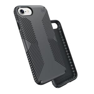 Купить Защитный чехол Speck Presidio Grip Graphite Grey/Charcoal Grey для iPhone 7/8