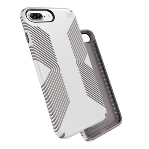 Купить Защитный чехол Speck Presidio Grip White/Ash Grey для iPhone 7 Plus/8 Plus