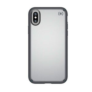 Купить Чехол Speck Presidio Metallic Tungsten Grey Metallic/Stormy Gray для iPhone X/XS