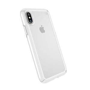 Купить Чехол-бампер Speck Presidio Show Clear/Bright White для iPhone X/XS