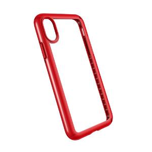 Купить Чехол-бампер Speck Presidio Show Clear/Heartthrob Red для iPhone X