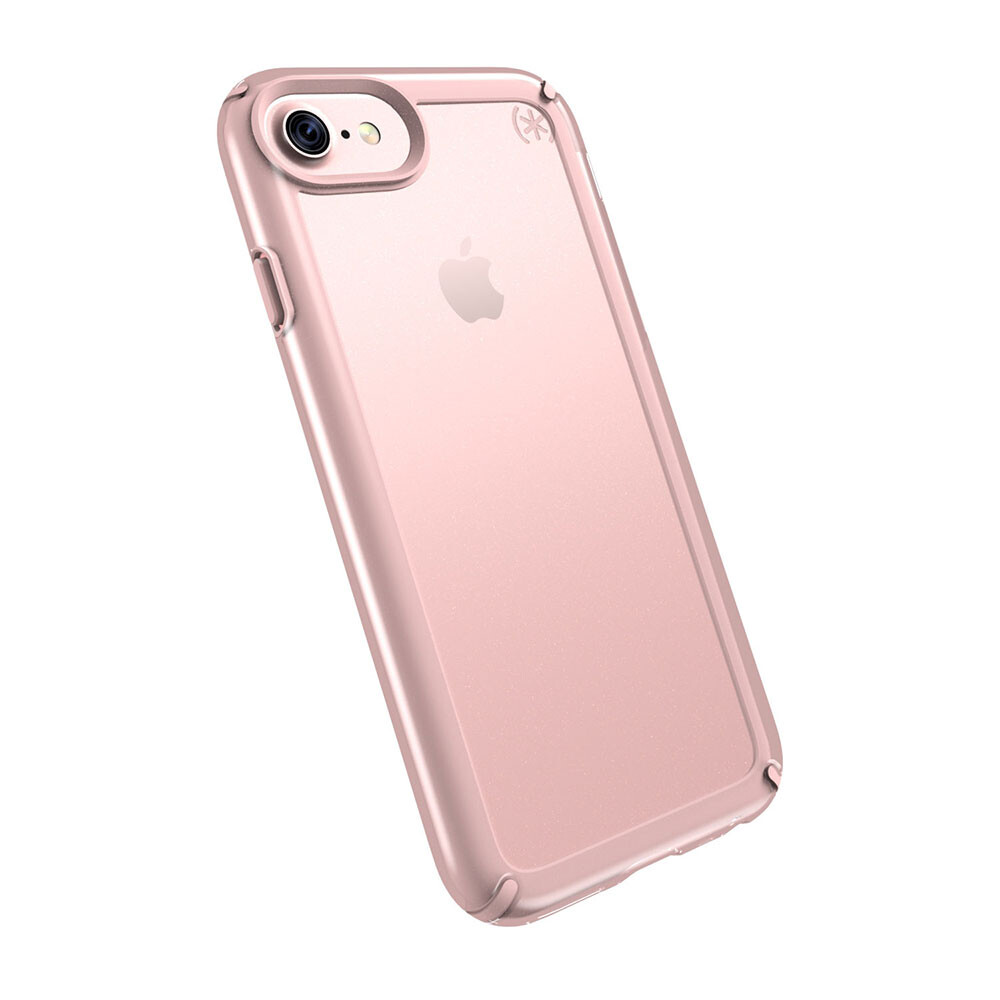 Чехол-бампер Speck Presidio Show Clear/Rose Gold для iPhone 7/6/6s