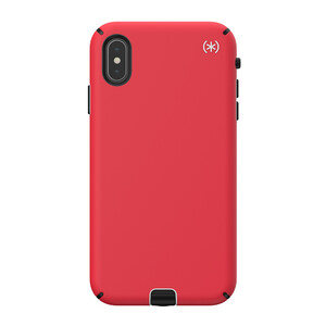 Купить Противоударный чехол Speck Presidio Sport Heartrate Red/Sidewalk Grey/Black для iPhone XS Max
