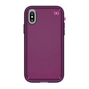 Купить Чехол-бампер Speck Presidio ULTRA Mangosteen Purple/Hibiscus Pink/Eggplant Purple для iPhone X